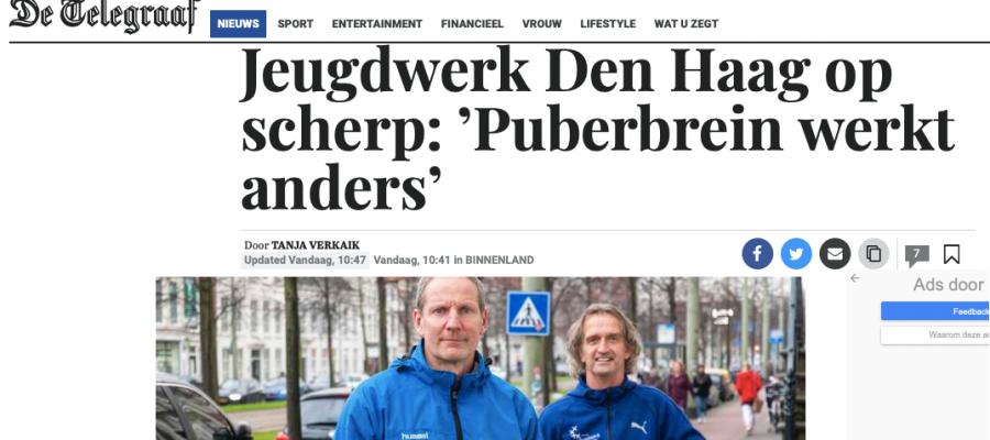 Stichting Jeugdwerk in de Telegraaf